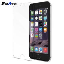Retail Price 2.5D Round Edge 9H Glass Film for iphone 7 Protection decran verre trempe Garde pour for iPhone 7 Plus 4.7/5.5(China)
