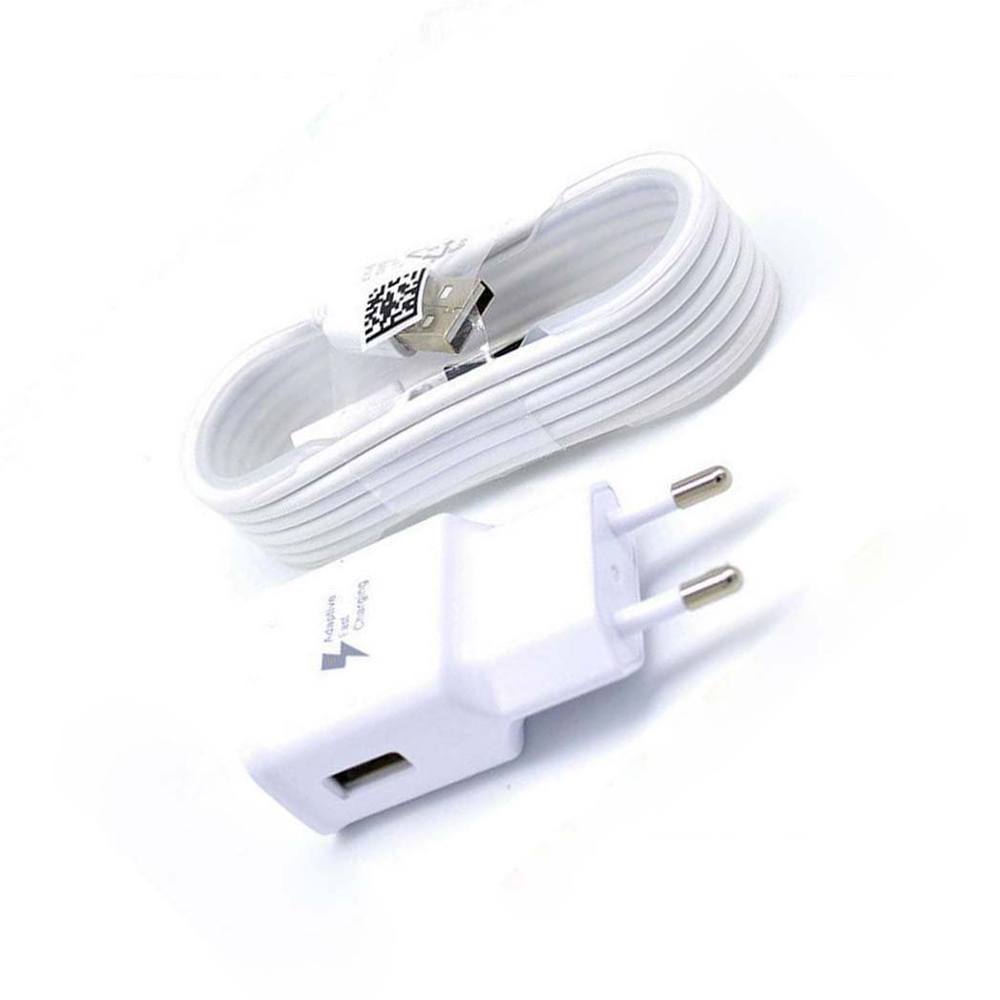 SAMSUNG FAST CHARGER EU US UK Plug 9V1.67A&5V2A 1.5M Micro USB Data Cable For SAMSUNG GALAXY S8 S8 PLUS S8+ Travel Wall Charger