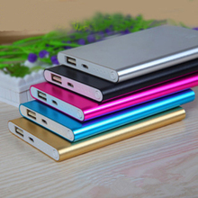 Power Bank 6000 mAh Portable Polymer Powerbank Mobile Li-Polymer Charger Backup External Battery Charger For All Moblie Phone