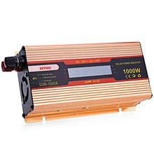 1000W Car Solar Power Inverter Automotive Power Converter DC 12V to AC 230V with Aluminum Alloy Case LED Display