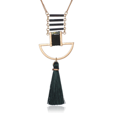 Han edition female long deserve to act the role of fall winter is hanged adorn article tassel pendant sweater necklace