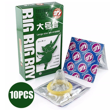 BeiLiLe 30Pcs Large Size Big XXL Condom For Men Smooth Women Vaginal Adult Game Sex Toy Sex Products For Man(China)