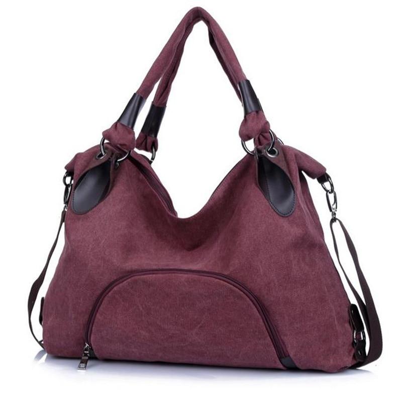 New Women Bag Shoulder canvas Bag Ladies Designer Handbags Female Handbag Tote bolsas sac a main<br>