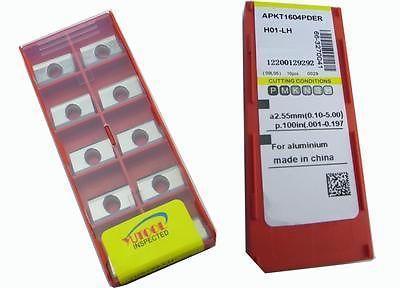 PROMOTION New 50PCS YUSING APKT1604 ALuminium Carbide Insert Milling cutter<br><br>Aliexpress