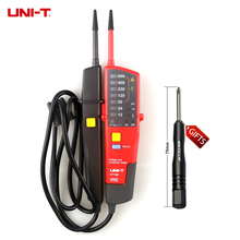UNI-T UT18B Auto Range Voltage Teste Pen Voltmeter Continuity Tester with LED Indication RCD Test and No Battery Detector