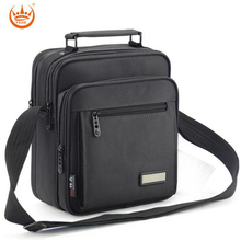 Hot Sale Business Vertical Men Single Shoulder Bags Casual Men's Handbags New Tablet Bag Man Satchel Brand Messenger Pack B455