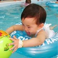 Baby Swim Ring Infant Swim Trainer Baby Shoulder Strap Float Laps Inflatable Neck Rubber Circle Swimming pool accessories 2 size