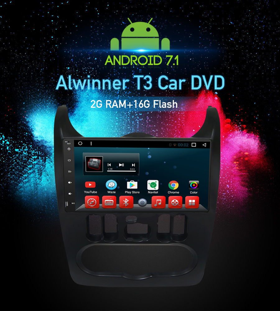 Android 71 Car Dvd Stereo Player Gps Glonass Navigation Multimedia How To Lengthen Electrical Wiresavi Youtube Technical Parameters