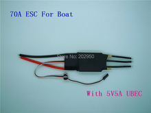 1piece Brushless Motor 60A 70A WaterCool ESC 2-7S Lipo With 5A BEC RC Boat Jet Ship 70a Brushless ESC + Free Shipping
