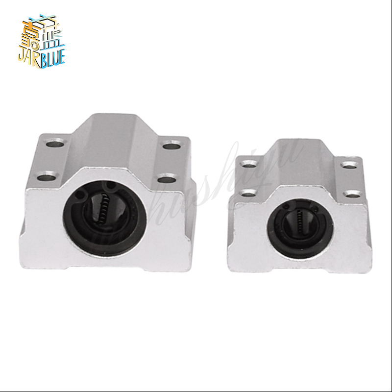 4pcs SC6UU SCS6UU 6mm linear ball bearing block CNC Router slide bushing