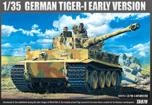 Academy MODEL 13239 1/35 scale German Tlger-I Early Version plastic model kit