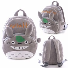 Plush School Backpack Infant Anime Backpack for Kids School Backpack for Girls Boys Totoro Bags(China)