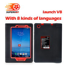 2017 Launch X431 V8 inch Free Update X-431 V Pro X431 Pro WiFi/Bluetooth OBD2 Diagnostic-Tool creader viii as gift free shipping