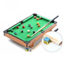 "20"" Classic mini american pool table billiard tabletop pool table toy table game for kids-HG201D(China)"