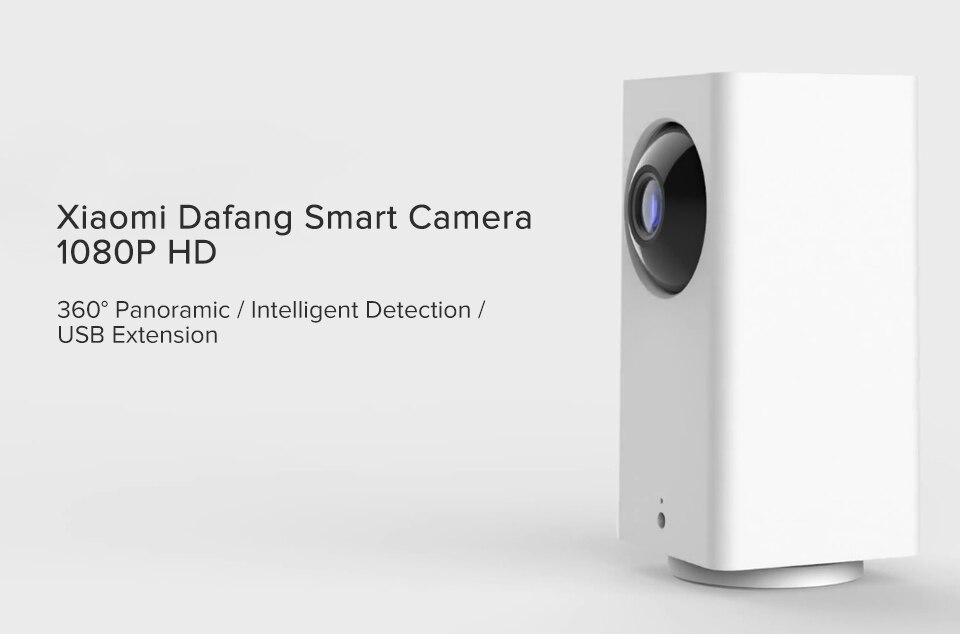 Original Xiaomi Mijia IP Camera Dafang Smart Monitor 110 Degree 1080p HD Intelligent Security WIFI Night Vision For Mi Home App (1)