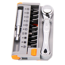 Quick Ratchet Screwdriver Set 10Pcs Screwdriver Bits Household Screw Driver Parafusadeira Hand Tools