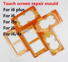 Maintenance fixture Screen positioning mold for iphone 5s 6 6plus 7 7 Screen Mould Holder For LCD Touch Screen Refurbishmen