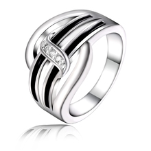 factory direct new wholesale high quality silver plated  trend pretty women classic ring jewelry free shipping
