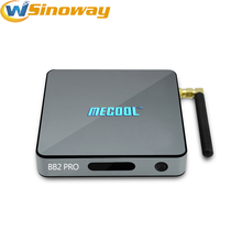 DHL MECOOL BB2 PRO Android 6.0 TV Box Octa Core DDR4 3G+16G 1000M 4K Amlogic S912 Support for BT 4.0 Streaming Media Player(China)