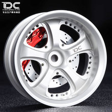 Buy DC RC 1:10 VS KF WHEEL OFFSET +9 SILVER/BLACK EP 1:10 RC CARS DRIFT ON ROAD RWD AWD DC-90103, 4PCS for $30.62 in AliExpress store