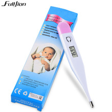 Baby Electronic Digital Temperature Kids Child mercury thermometer LCDChild soft head digital a therm Forehead Oral anal armpit(China)