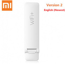 New English Version Xiaomi WIFI Repeater 2 Amplifier Extender 300Mbps Amplificador Wireless WiFi Router Expander for Mi Router