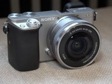 Sony A6000 Mirrorless Digital Camera ILCE-6000L with 16-50mm Lens -24.3MP -Full HD Video Brand New SILVER(Hong Kong)