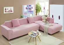 Pink Living room Sofa Cover Slipcover Elastic Converts Cover Tight All-inclusive 1/2/3/4-Seat Single/Two/Three/Four-seater(China)