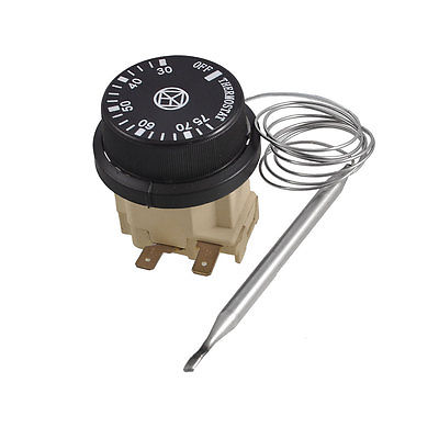 250V 16A 2 Pins 75C Normal Close Thermostat Termperature Control Switch<br><br>Aliexpress
