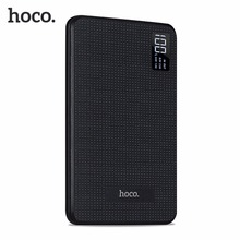 HOCO Portable External Battery Pack Fast Charge 30000mAh Mobile Power Bank Three USB Output Lithium Polymer Batteries(China)
