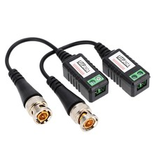Yumiki 1 Channel Passive Video Balun Transceiver BNC to UTP CAT5 Cable for CCTV(China)