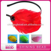 bridal feather headbands+fashion design+free shipping+fast delivery(China)