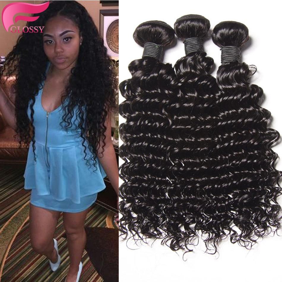 Beauty Forever Hair Deep Wave Peruvian Virgin 3 Bundle Deals 7a Unprocessed Virgin Hair Human Hair Extensions<br><br>Aliexpress