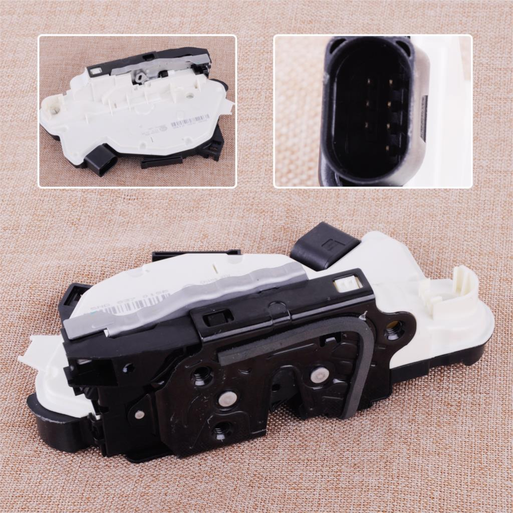 CITALL Car Door Lock Latch Actuator Driver Door Front Left LH 5N1 837 015 C Fit VW Tiguan CC Scirocco Skoda Fabia Superb