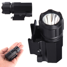 P05 LED Tactical Gun Flashlight 2-Mode 600LM Pistol Handgun High Quality for Outdoor Camping Fishing Use