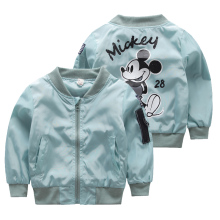 Girls Mickey Coat Windbreaker Spring Autumn Baby Trench for Boys Fashion Children Jackets for Teenagers Infant Coat Kid Outwear(China)