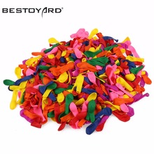 500pcs Birthday Decoration Ballons Party Wedding Decoration Assorted Bright Color Latex Water Balloons (Random Color)(China)