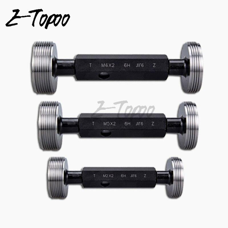M6(×1) 6H Common thread plug gauge Thread stopper gauge 1Pcs