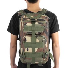 9colors Men Women Outdoor Military Army Tactical Backpack Trekking Sport Travel Rucksacks Camping Hiking Trekking Camouflage Bag(China)
