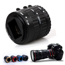 For Canon DRSL Camera AF Auto Focus Macro Extension Tube Set Ring C-AF for Canon EOS 450D EOS 500D EOS 550D 31MM