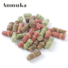 Anmuka FREE SHIPPING hot sell three colour smell lure grass carp bait  insect elastic particle rods suit particle general