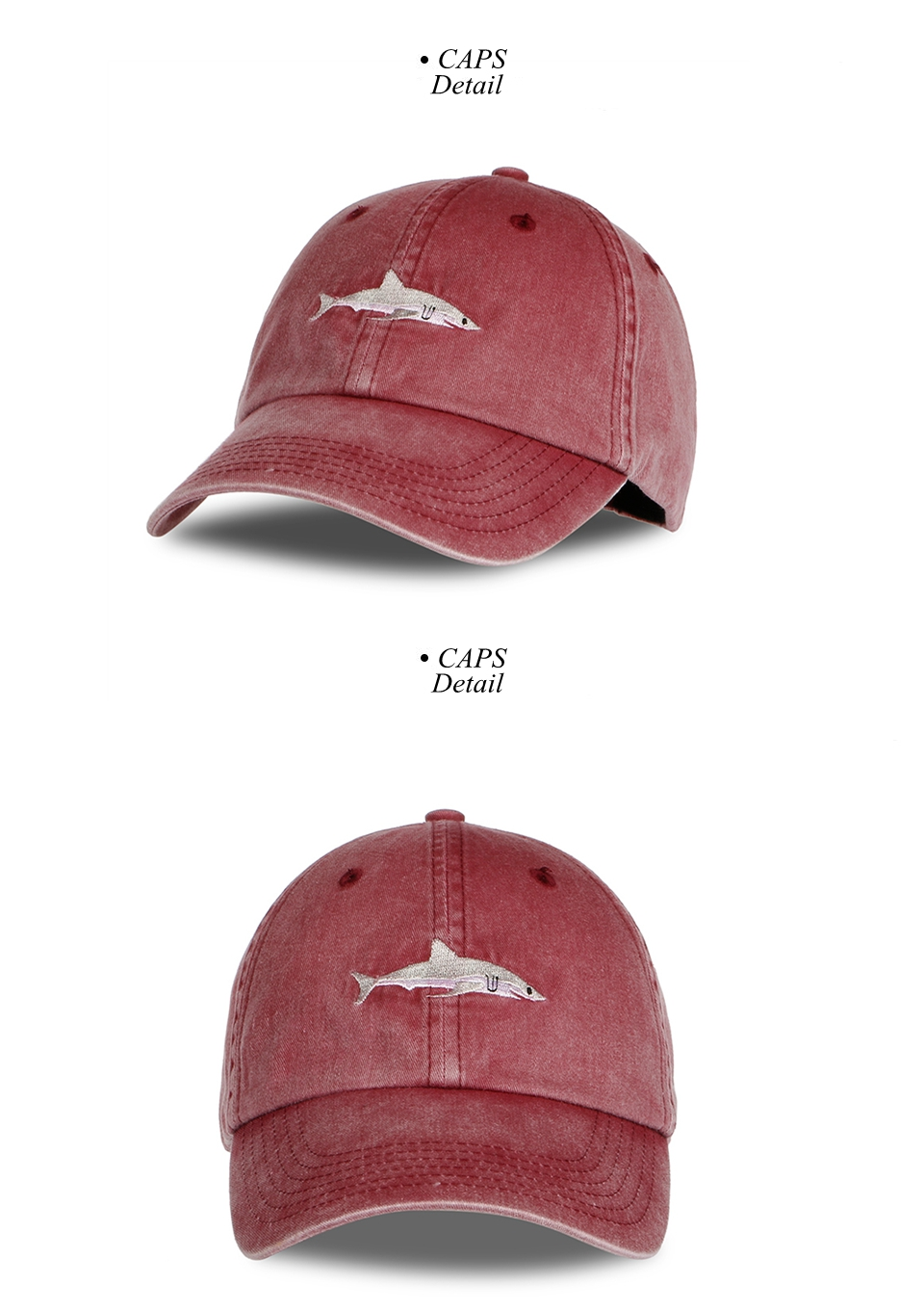"Shark Cap"" Shark Snapback Cap for Men/Women 5"