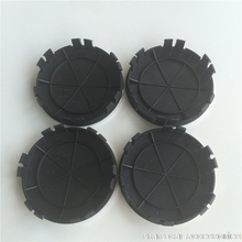 20pcs 75mm New 6pins  Car Styling Light Dark Blue Black Wheel Centre Cap Hub Caps Cover Badge Emblem 6 Clips