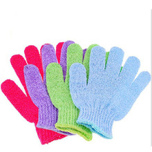 20pcs/lot High Quality Person Care Exfoliating Spa Bathing Mitt Gloves, Skin Care Shower Gloves BG2010