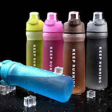 500/600ML My Water Bottle Sport Eco-friendly Plastic BPA Free Outdoor Travel Bicycle Sports Drink Bottle for water High quality(China)