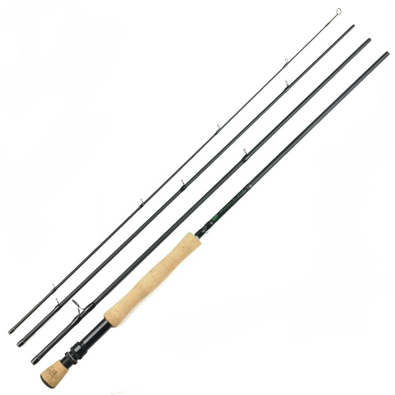 7Ft  2.1m  #3/4  4 Sections Carbon Fly Fishing Rod Medium Fast Action Pesca Carp Rod Fishing Tackles<br><br>Aliexpress