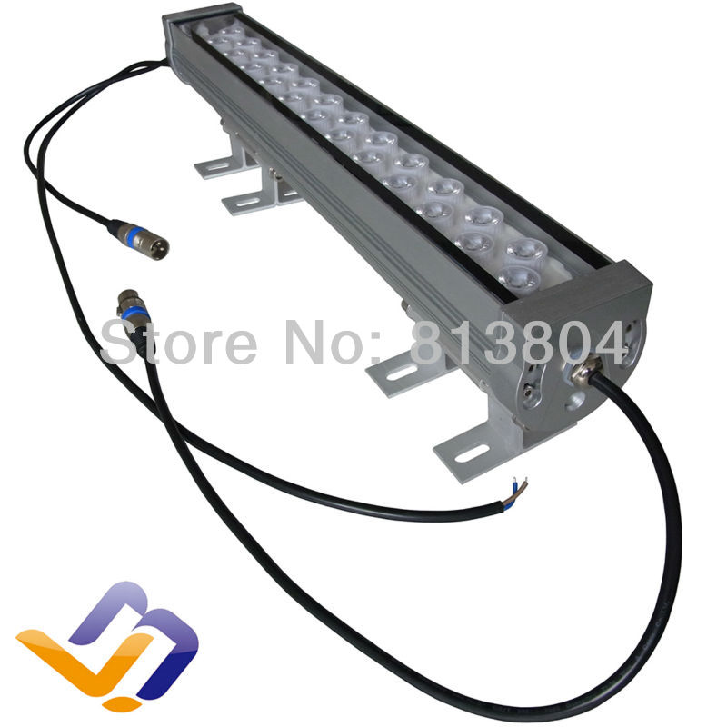 24W LED wall washer RGB color DMX Wallwasher Advertising Lamp DC/24V<br><br>Aliexpress