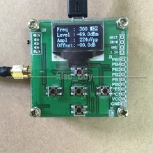 OLED display RF power meter 0-500Mhz -80 ~ 10dBm can set RF power attenuation value digital meter(China)
