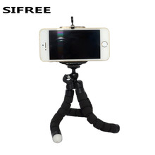 SIFREE Car Phone Holder Flexible Octopus Tripod Bracket Stand Mount Monopod Styling Accessories For Tablet Mobile smartPhone(China)
