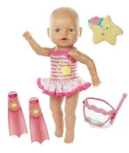 Electric Silicone Reborn Swimming Dolls Including All Accessories Reborn Babies Doll(China)